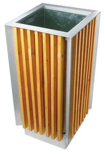 Corbeilles d 39 ext rieur et de propret poubelles - Poubelle exterieur design ...